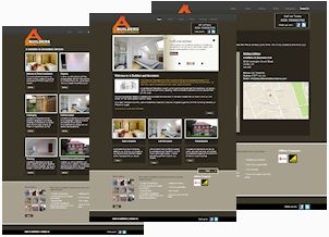 Our Website Development Work - A Builders & Decorators